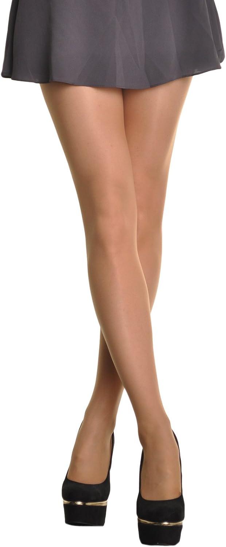 Desire Hosiery Women Sheer Footless Pantyhose One Size Red 100/% Nylon Taiwan