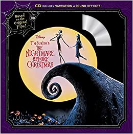 tim burtons the nightmare before christmas book cd disney book group 9781368022286 amazoncom books - A Nightmare Before Christmas