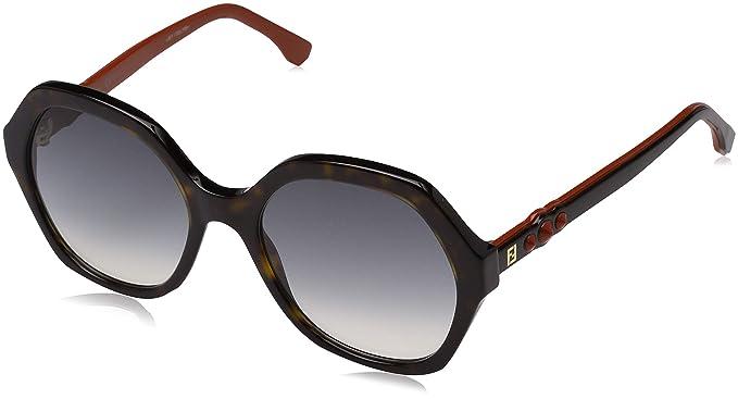 Fendi FF 0270/S 9O 086, Gafas de Sol para Mujer, Marrón ...