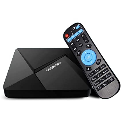Android 7 1 TV Box, Dolamee D5 Smart TV Box Amlogic Quad Core CPU A53  Processor 64 Bits Support 4K 3D 2 4Ghz WiFi HDMI 2 0