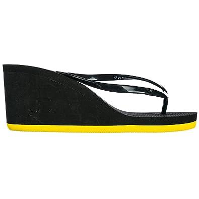 Emporio Armani EA7 Mujer Zapatillas Sandalias Chanclas Nuevo Core Active W Negro EU 40 915003 8P295 00020: Amazon.es: Zapatos y complementos