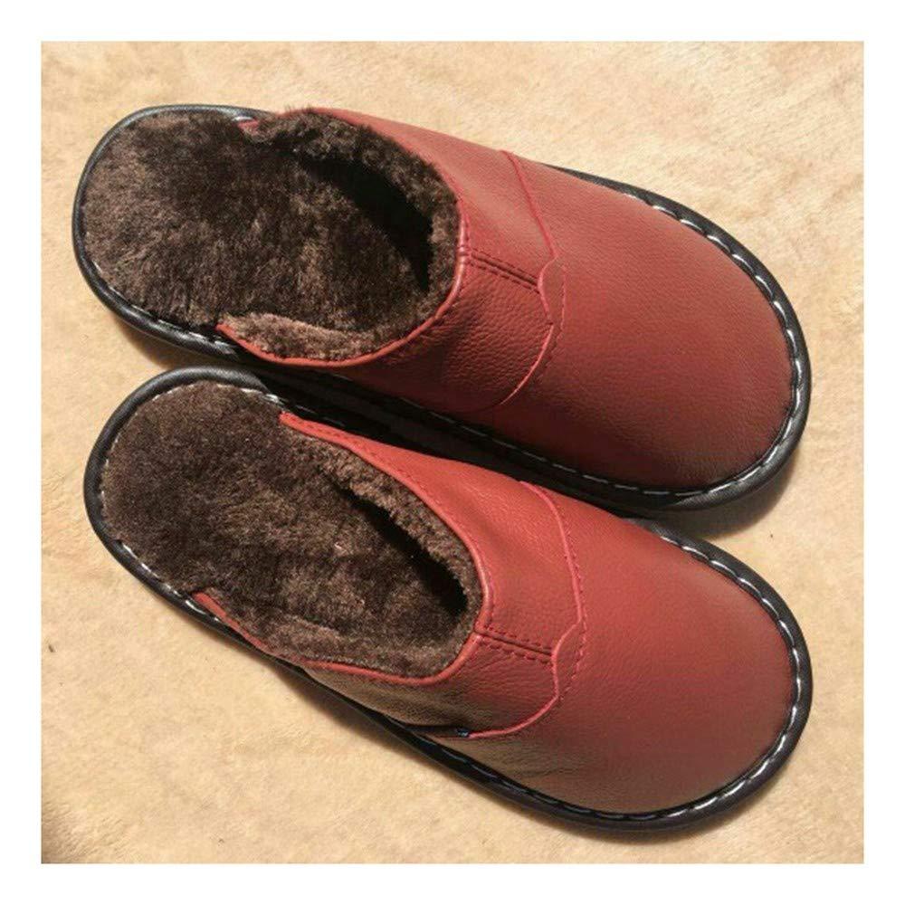 GAOHUI Slippers Männer Frauen Warm Anti Slip Schweiß Deo Hausschuhe Winter Innen- Liebhaber Casual Schuhe