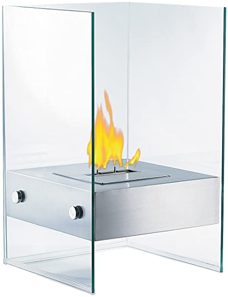 High Quality Carlo Milano Decorative Bioethanol Fireplace In Glass Cube (Ethanol  Fireplace)