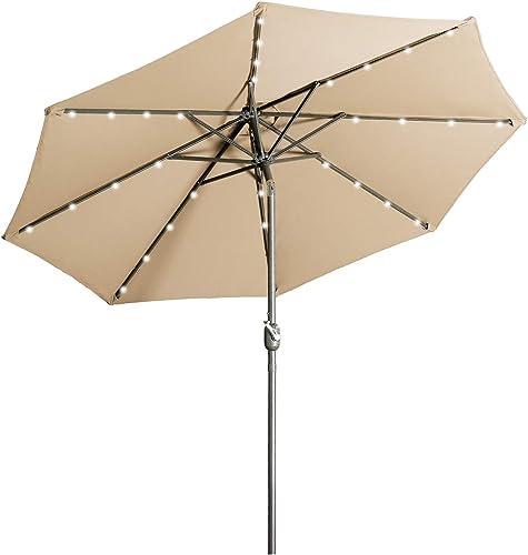 Aok Garden 9 ft Patio Umbrella