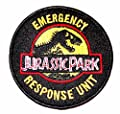 Jurassic Park Emergency Response Unit Iron-on/Sew-on Embroidered PATCH