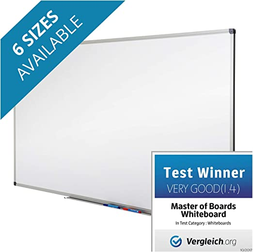 Excellent for Office and Home Dry Erase Board # 1 in Europe 24 x 18 Magnetic White Board