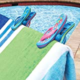 O2COOL Flip Flop BocaClips, Beach Towel