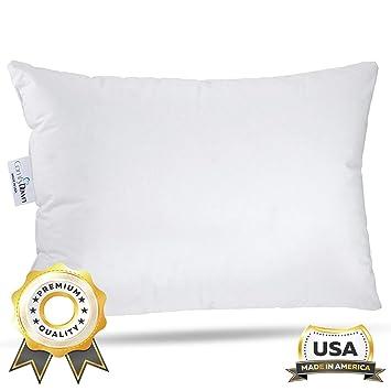 Amazon.com: ComfyDown almohada de viaje – 800 Relleno de ...