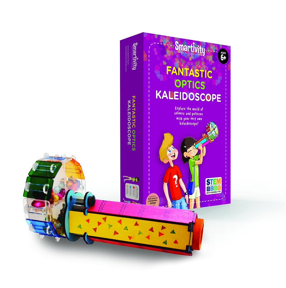 Smartivity Fantastic Optics Kaleidoscope - S.T.E.M., S.T.E.A.M. learning, Ages 6 Years and Up by Smartivity