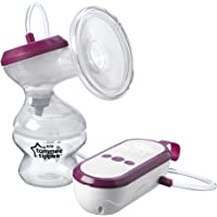 Tommee Tippee Made for Me Single Electric Breast Pump with baby feeding Bottle