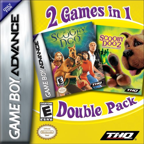 Scooby Doo Double Pack: 2 Games in 1