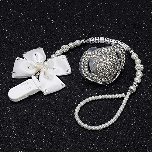 Image Unavailable. Image not available for. Color  MIYOCAR all name hand  made bling crystal rhinestone princess Baby avent Pacifier Nipples Dummy 33e706c49fe9