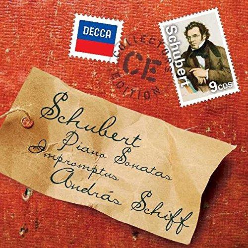 Schubert: Piano Sonatas/Impromptus [9 CD Box (Piano Sonatas Box)