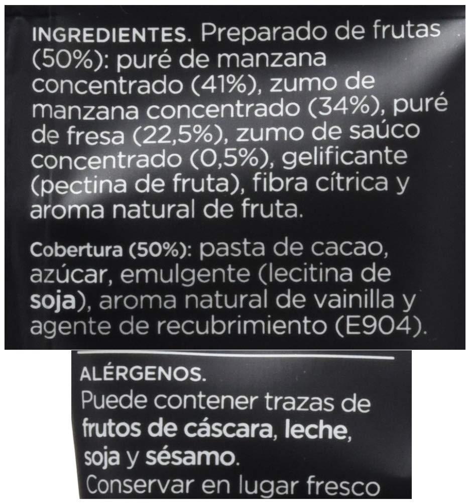 Snackíssimo Snack de Fresa chocolate - Pack de 15 bolsas 375 gr: Amazon.es: Alimentación y bebidas