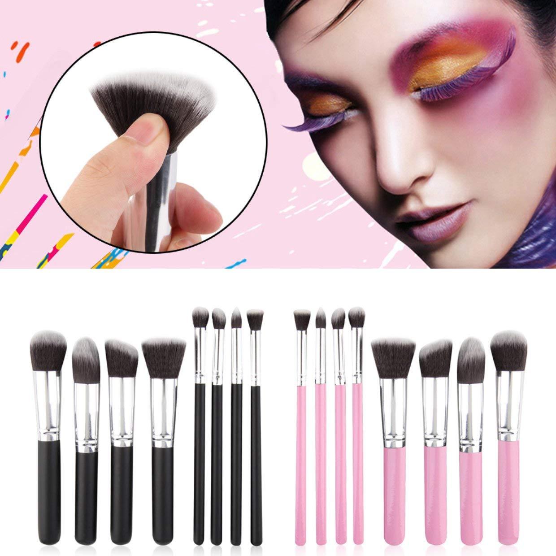 MXECO suave sint/ético pelo 8pcs set de maquillaje profesional cepillo cosm/éticos Cepillos Mujeres Herramientas Conjunto polvos para la cara Ojos Blush cepillos de belleza