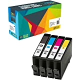 4 Do it Wiser ® 903XL Compatible Ink Cartridges for HP OfficeJet Pro 6960 6970 6950 6962 6961 6963 6964 6965 6966 6968 6971 6975 6976 6978 6954 6979 6951 6958 6974