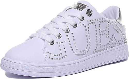 Guess Sneaker White Silver FL7CATELE12