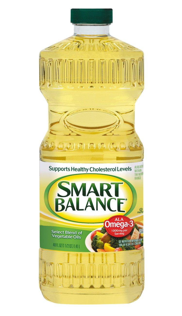 Smart Balance Omega Blend Cooking Oil, 48 Ounce (Pack of 9) by Smart Balance