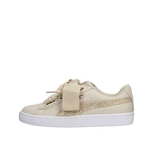 Puma Zapatilla 366495-01 Basket Heart Beige: Amazon.es: Zapatos y complementos