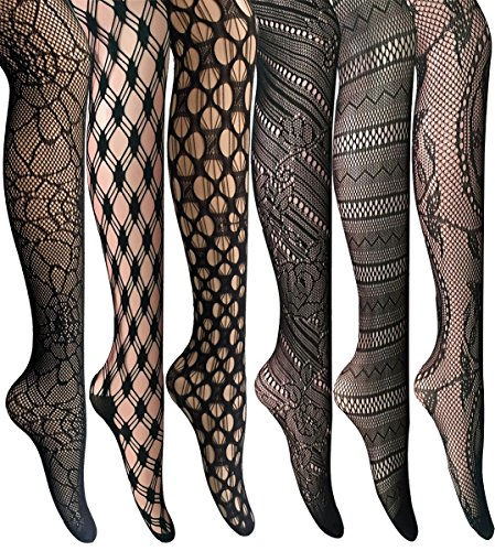 Kingspearl Stockings Patterned Pantyhose Elasticity