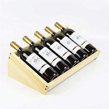 Ripiani Legno Su Misura.Zaliang Jiujia Portabottiglie Vino Ripiano Vino Diagonale