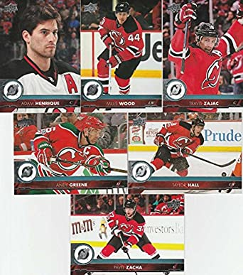 competitive price 29000 78bb1 Amazon.com: 2017-18 Upper Deck Complete New Jersey Devils ...