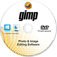 GIMP Photo Editor 2021 Premium Professional Image Editing Software CD Compatible with Windows 10 8.1 8 7 Vista XP 32…