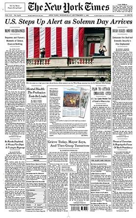 New York Times National Edition Amazon Com Magazines