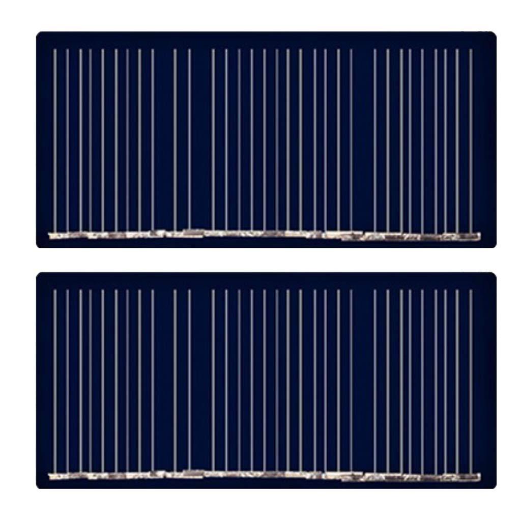 Homyl Charge Panneau Solaire Syst/ème De Batterie DIY Pile Chargeur Cellule Module