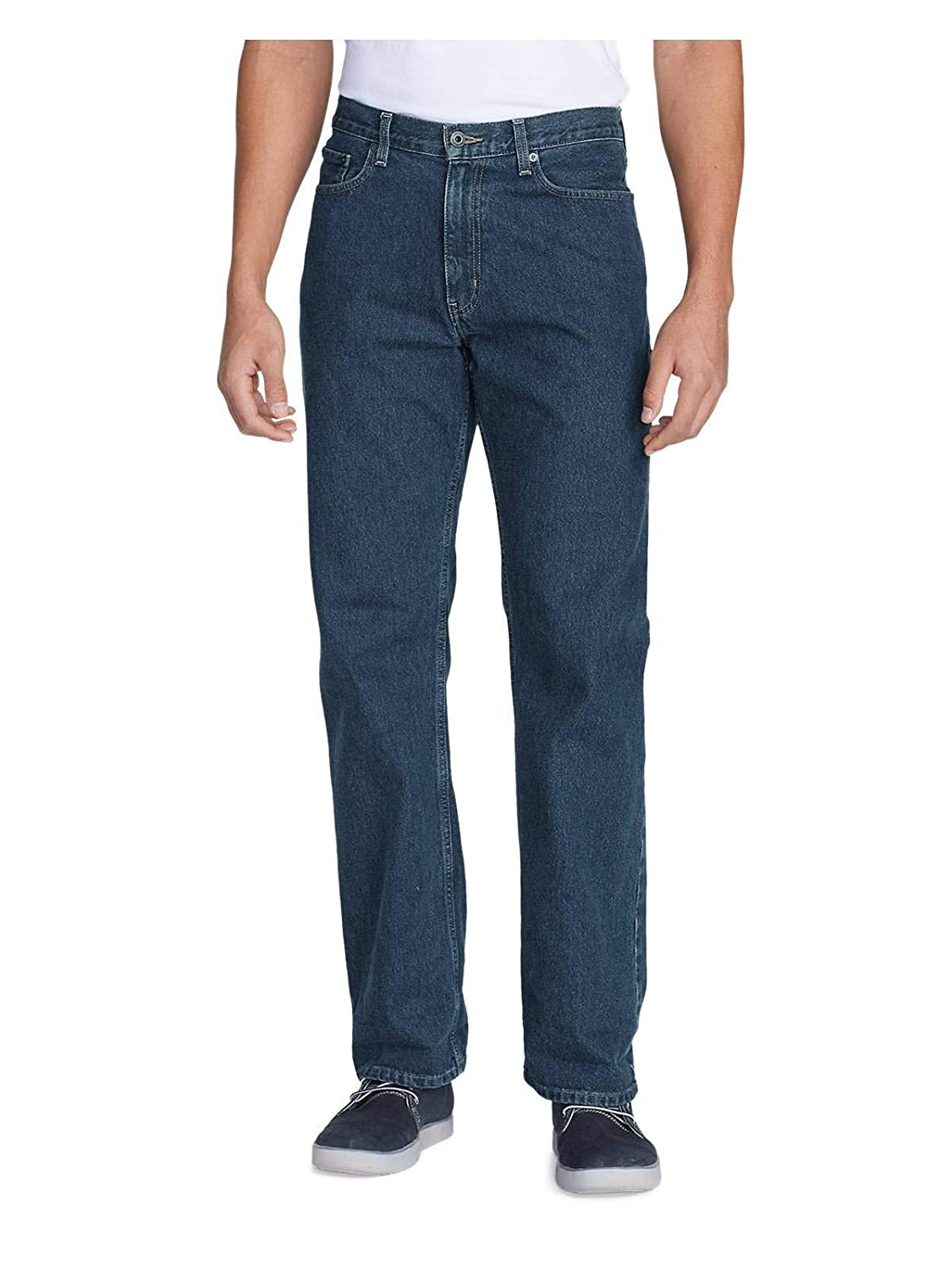 ca4310461d Eddie Bauer Men's Relaxed Fit Essential Jeans