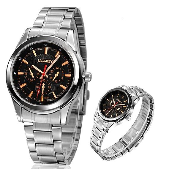 Top Descuento Calidad Reloj Lagmeey al por mayor de cuarzo Relojes WRIS Mecánica: Amazon.es: Relojes