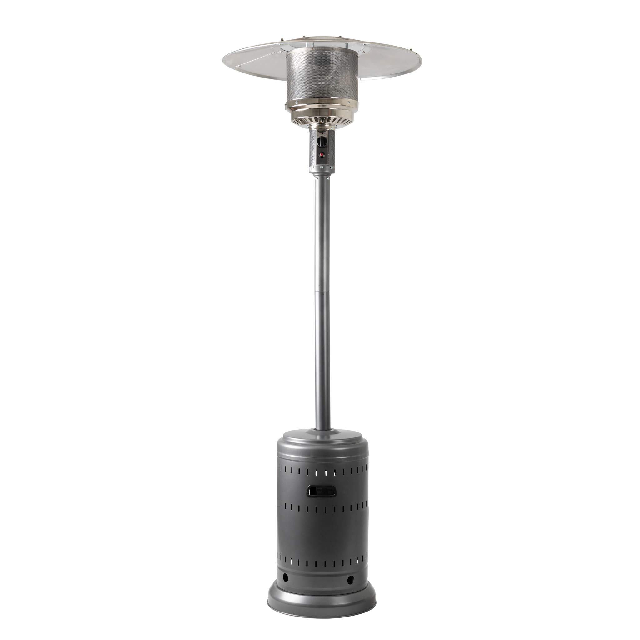 AmazonBasics Commercial Outdoor Patio Heater, Slate Grey by AmazonBasics
