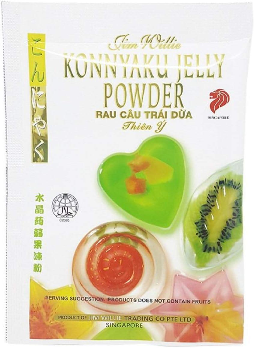 15 Packs Konnyaku Crystal Jelly Powder - from Jim Willie Singapore