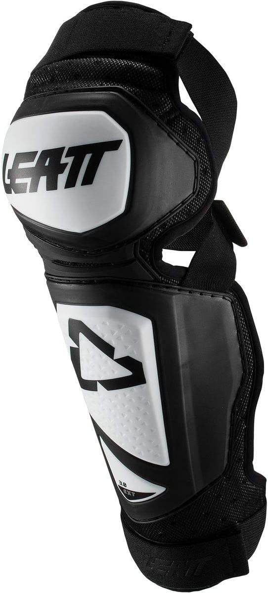Leatt 3.0 EXT Knee//Shin Guards Black//White All Sizes