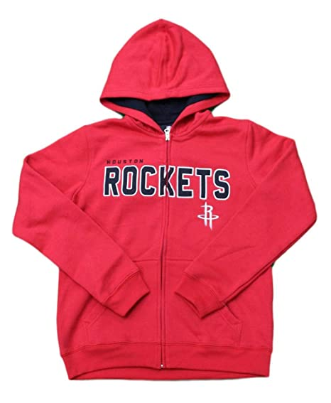 5145e5cd761 Image Unavailable. Image not available for. Color  Outerstuff Houston  Rockets Youth NBA Foundation Full Zip Hooded Sweatshirt