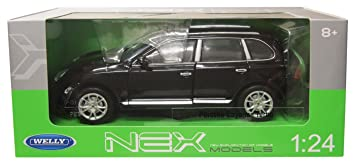 1/24 WELLY Porsche Cayenne Turbo Negro