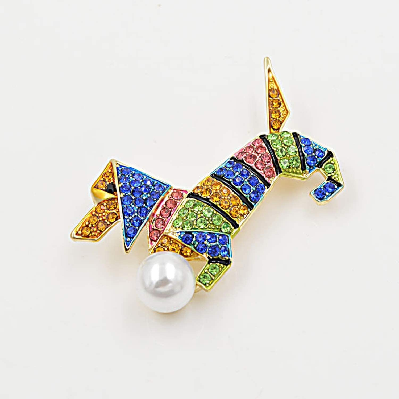 Brooch Pins-Multi Color Spring Rhinestone Dog Brooches Fashion Animal Design Jewelry Cute Puppy Brooch Gift