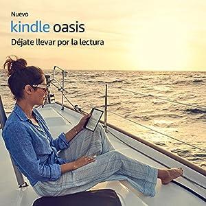 """Nuevo e-reader Kindle Oasis, resistente al agua, pantalla de 7"""" (17,7 cm) de alta resolución  (300 ppp), 8 GB, wifi"""
