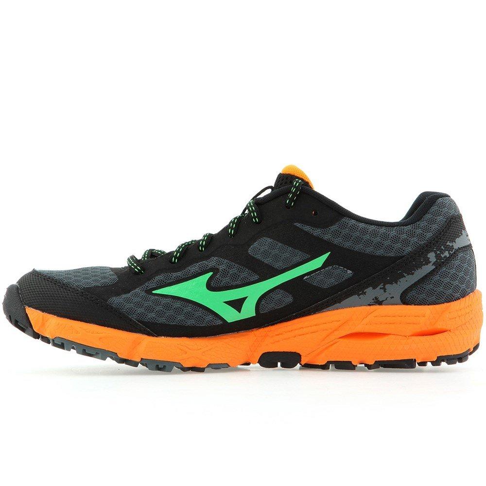 Mizunowave Kien - Zapatillas de Correr Hombre 42 EU|De Color Naranja-negros-grafito