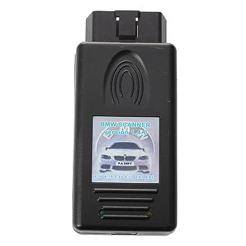 SODIAL(R) Escaner 1.4.0 Diagnostico Escaneo Interfaz por BMW Modelos Compatibles: BMW E38, E39, E46, E53, E83, E85 y etc.: Amazon.es: Coche y moto