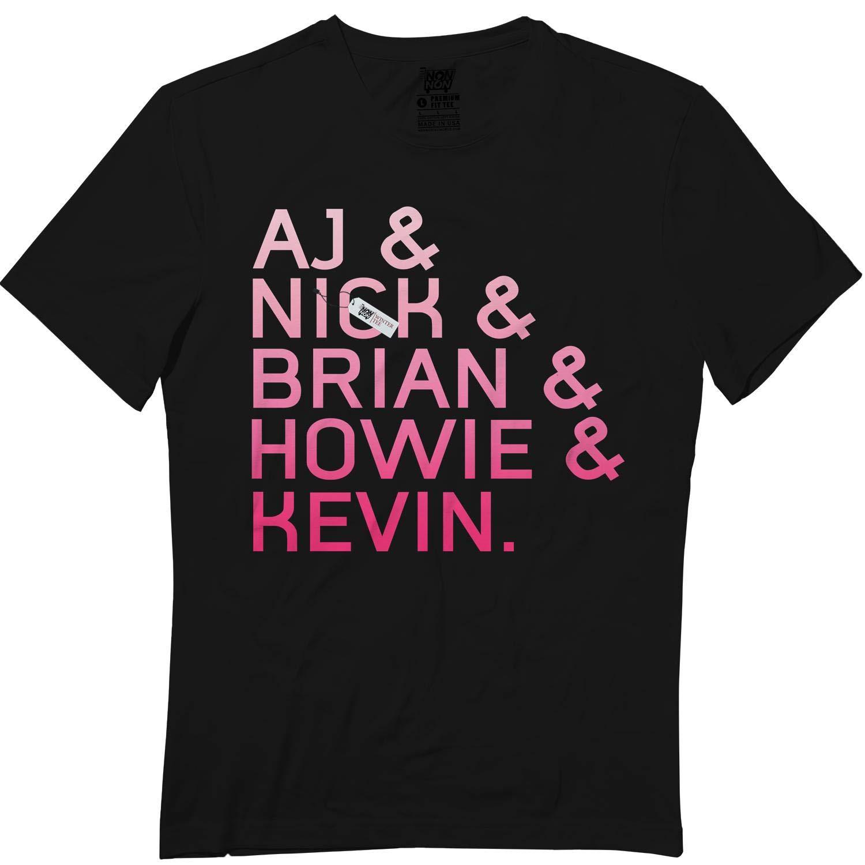 wintertee AJ-Nick-Brian-Howie-Kevin Tshirt for Boys Girls T Shirt