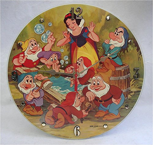 IT S OUR EARTH Vinyl Record Wall Clock Hand Made Using a Snow White Picture Disc Album