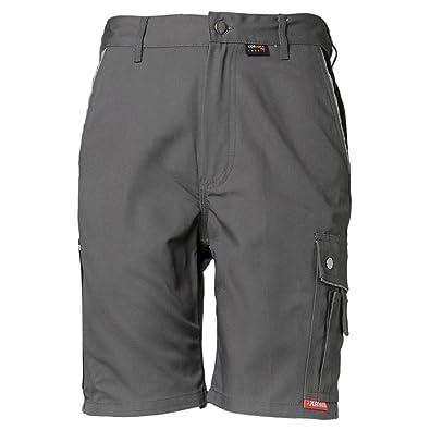CANVAS Arbeitshose Bundhose Berufskleidung weiß//grau PLALINE Hose Malerhose