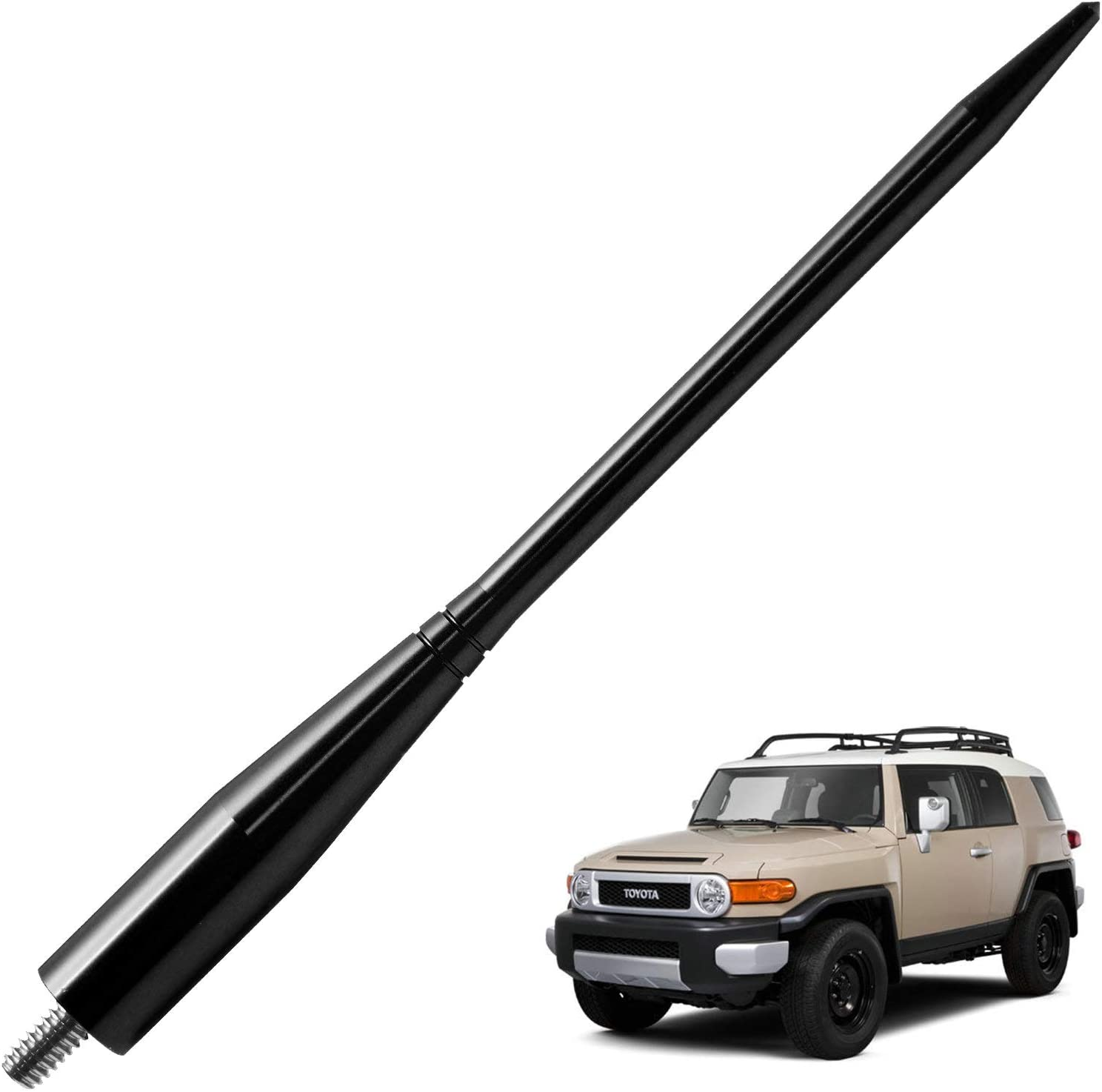 JAPower Replacement Antenna Compatible with Kia Soul 2010-2018 6.75 inches-Black
