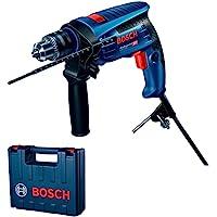 Furadeira de Impacto Bosch GSB 13 RE 650W 127V com 5 brocas e maleta