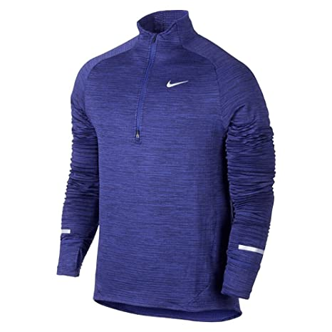 28990080b0fc Image Unavailable. Image not available for. Color  Nike Element Sphere Half- Zip Dark Purple ...