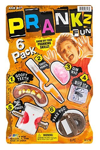 Looking Body Parts Fake Poo Trick Pencil & MORE! Prank Novelty Party Favor. PACK OF 1. 6416 (Pencil Part)