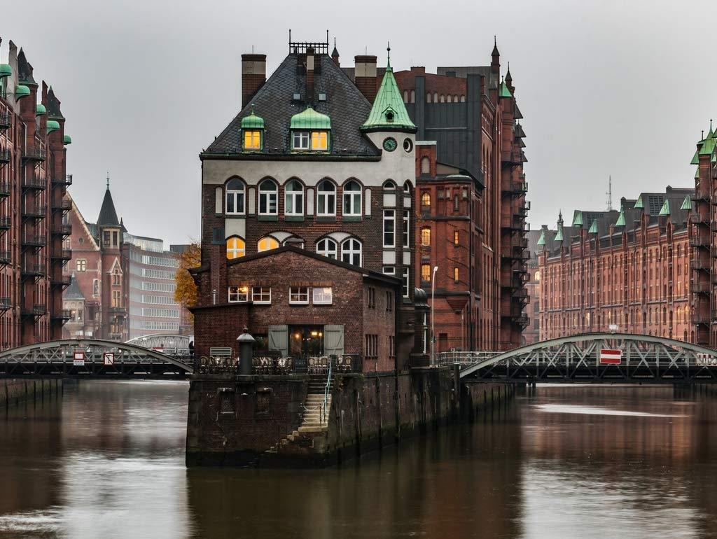 Lais Jigsaw Hamburg Speicherstadt 2000 pieces