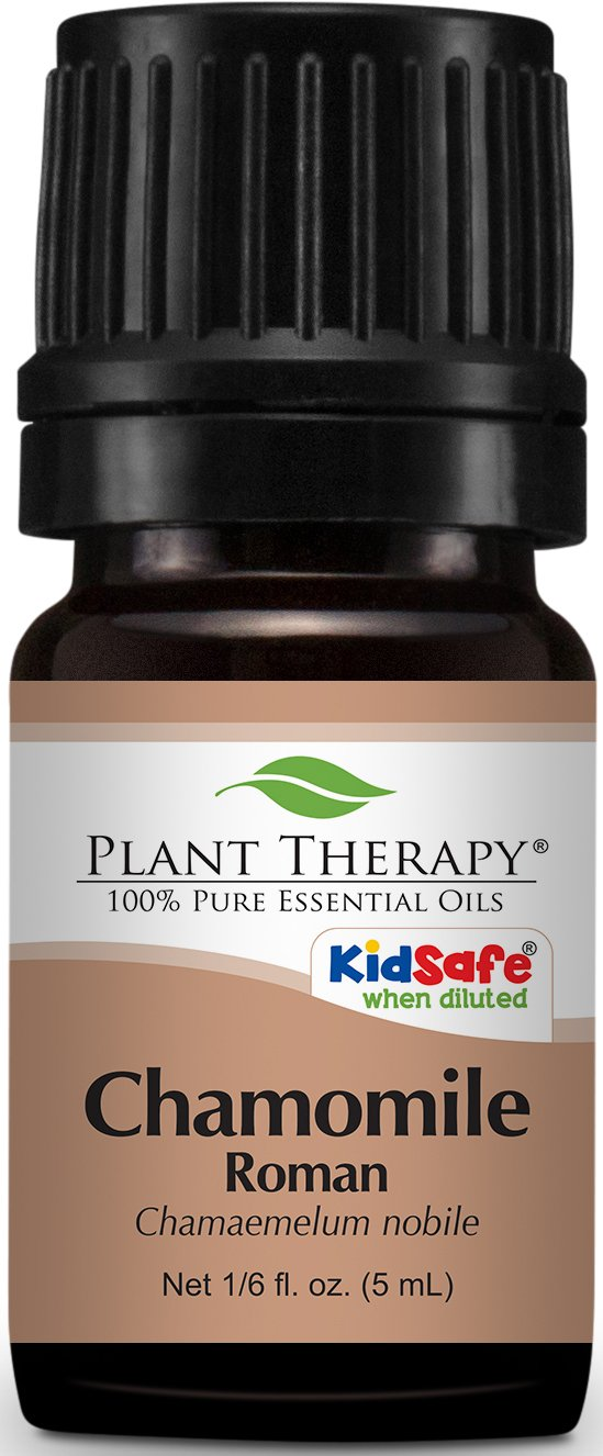 Plant Therapy Chamomile Roman Essential Oil.100% Pure, Undiluted, Therapeutic Grade. 5 mL (1/6 Ounce).