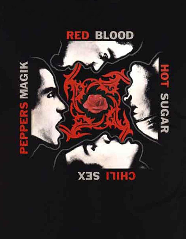 Red Hot Chili Peppers T Shirt Blood Sugar Sex Magic Logo Nouveau Officiel Homme